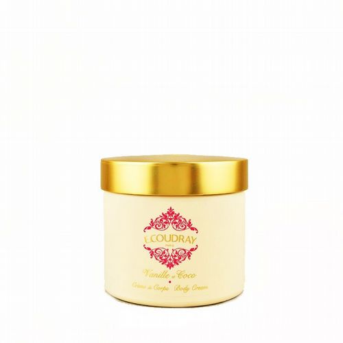 E Coudray - Rich Body Cream - Vanille et Coco